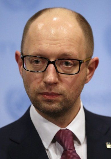 Ukrainian Prime Minister Arseniy Yatsenyuk Addresses UN Security Council