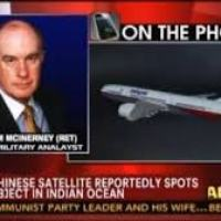 Fox News Anaylist Lt. Gen. McInerney Says MH370 Is In Pakistan – 'I Got A Source That Confirmed It Yesterday' (Video)