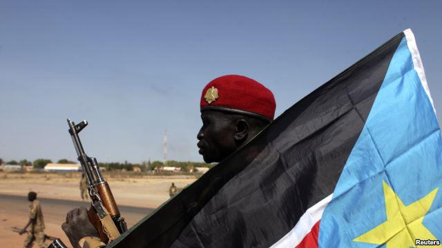 South Sudan intercepted 11 U.N. trucks carrying weapons, headed to Bentiu.