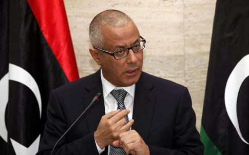 Libyan Prime Minister Ali Zeidan threatened to strike any ship carrying oil from eastern Libya. Photo: EPA