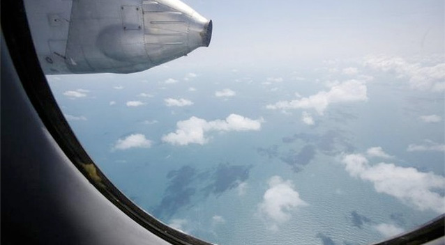 A Vietnam Air Force search and rescue aircraft have yet to find any sign of the missing Malaysia Airlines plane. Photo: Reuters.