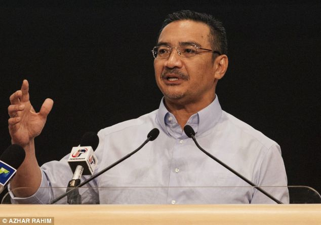 Blunder: Hishammuddin Hussein received a barrage of complaints after his 'insensitive' tweet about MH370