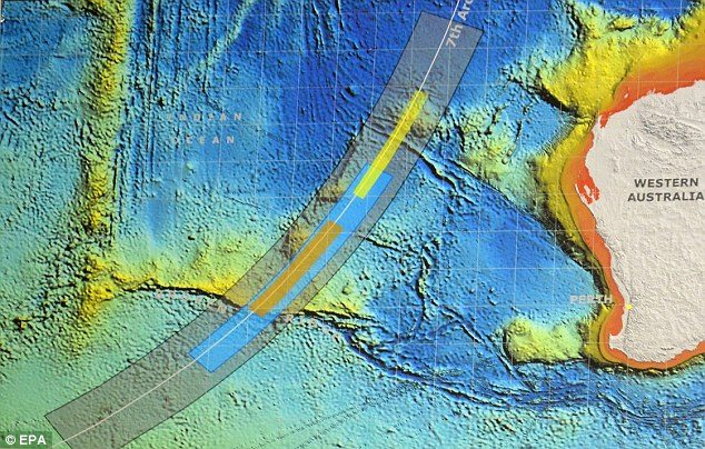 Mr Truss said the new phase of the search could take more than a year and involves mapping 23,000 square miles of ocean, while the previous search area was only 330 square miles