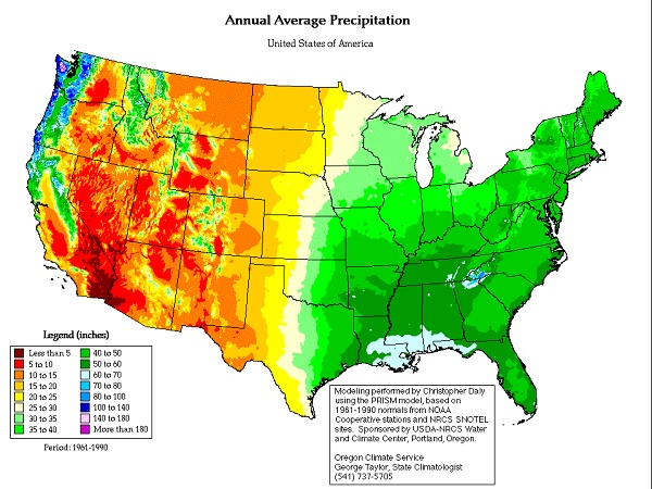 USA-rainfall-map
